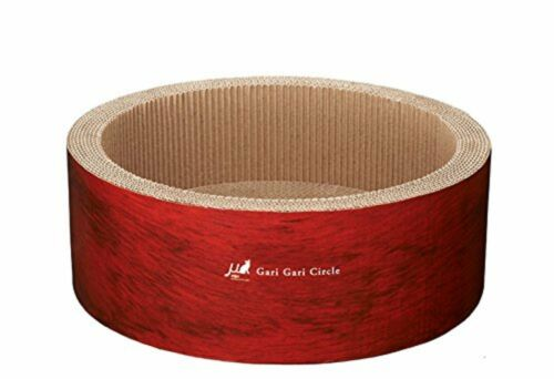 Cat toy mju skinny Circle scratcher garigari bed Fairy claw F//S w//Tracking#