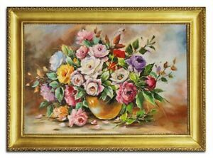Oil-Painting-Pictures-Hand-Painted-with-Frame-Baroque-Art-G96497