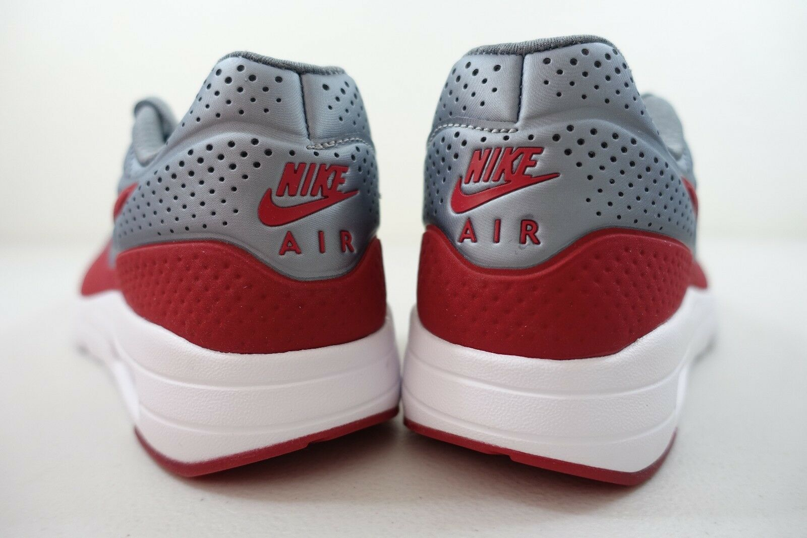 MEN'S NIKE AIR MAX 1 ULTRA ULTRA ULTRA MOIRE SHOES SIZE 7 grey red white 705297 006 13b32b