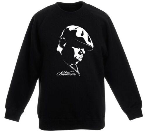 Notorious BIG Bad Boy Eastcoast Big Poppa Hypnotize Rap Hoodie//Sweatshirt NEU