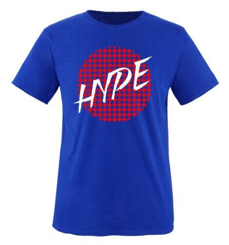 Gr S-XXL Versch Farben HYPE Deluxe Comedy Shirts Herren T-Shirt