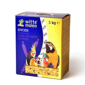 Witte Molen Nourriture aux œufs Moist Pour Tous Les Oiseaux Canary Budgie Finch Perroquet 5kg Box