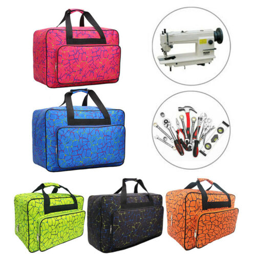 Nylon Sewing Machine Tote Bag Carrying Storage Cover Case Fitness Travel Handbag