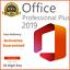 MICROSOFT-OFFICE-2019-PROFESSIONAL-PLUS-32-64-BIT-LICENSE-KEY-INSTANT-DELIVERY miniatura 1