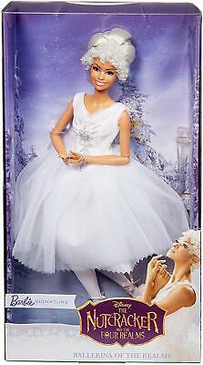 Disney Barbie Signature Ballerina Of The Realms The Nutcracker Clara Snow Doll