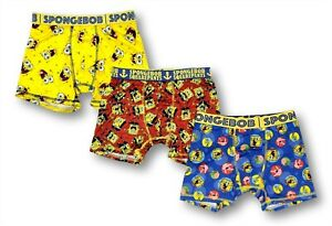 SpongeBob SquarePants Boys Underwear Multipack