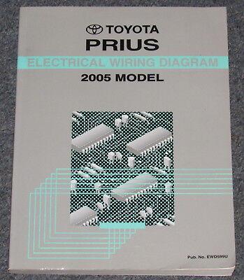2005 toyota prius wiring diagrams 2005 toyota prius electrical wiring diagram service manual ebay  2005 toyota prius electrical wiring