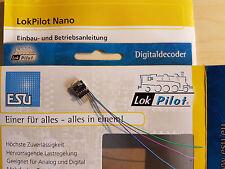 ESU 53665 LokPilot Nano Standard Decoder DCC 6-polig Direktstecker NEU OVP