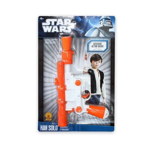 FX NEU STAR WARS Waffe HAN SOLO Blaster Pistole Laser Laserblaster SOUND OVP