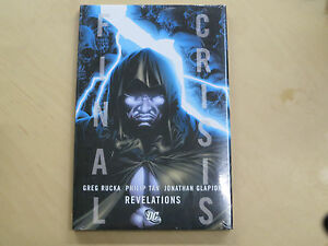 Image Is Loading DC Comics Final Crisis Revelations Hard Cover Trade
