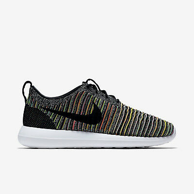 NIKE ROSHE NM FLYKNIT SE Running Trainers Shoes Gym Casual Green Various Sizes