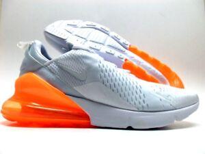 Nike Air Max 270 White Total Orange AH8050 102