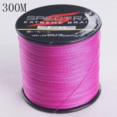 High Quality PE Line Fishing Line 300M 8LBs-100LBs 4 Braided Line Sports Goods