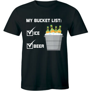 My-Bucket-List-Funny-Mens-T-Shirt-Beer-Ice-Bucket-Alcohol-Party-Soft-Tee