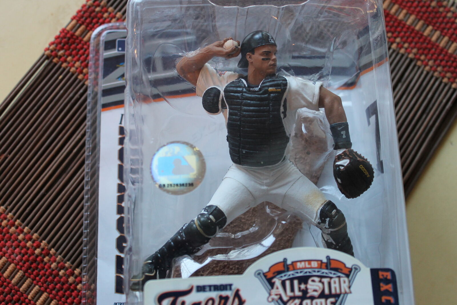 IVAN RODRIGUEZ, ALL-STAR GAME EXCLUSIVE MCFARLANE (RARE), DETROIT TIGERS