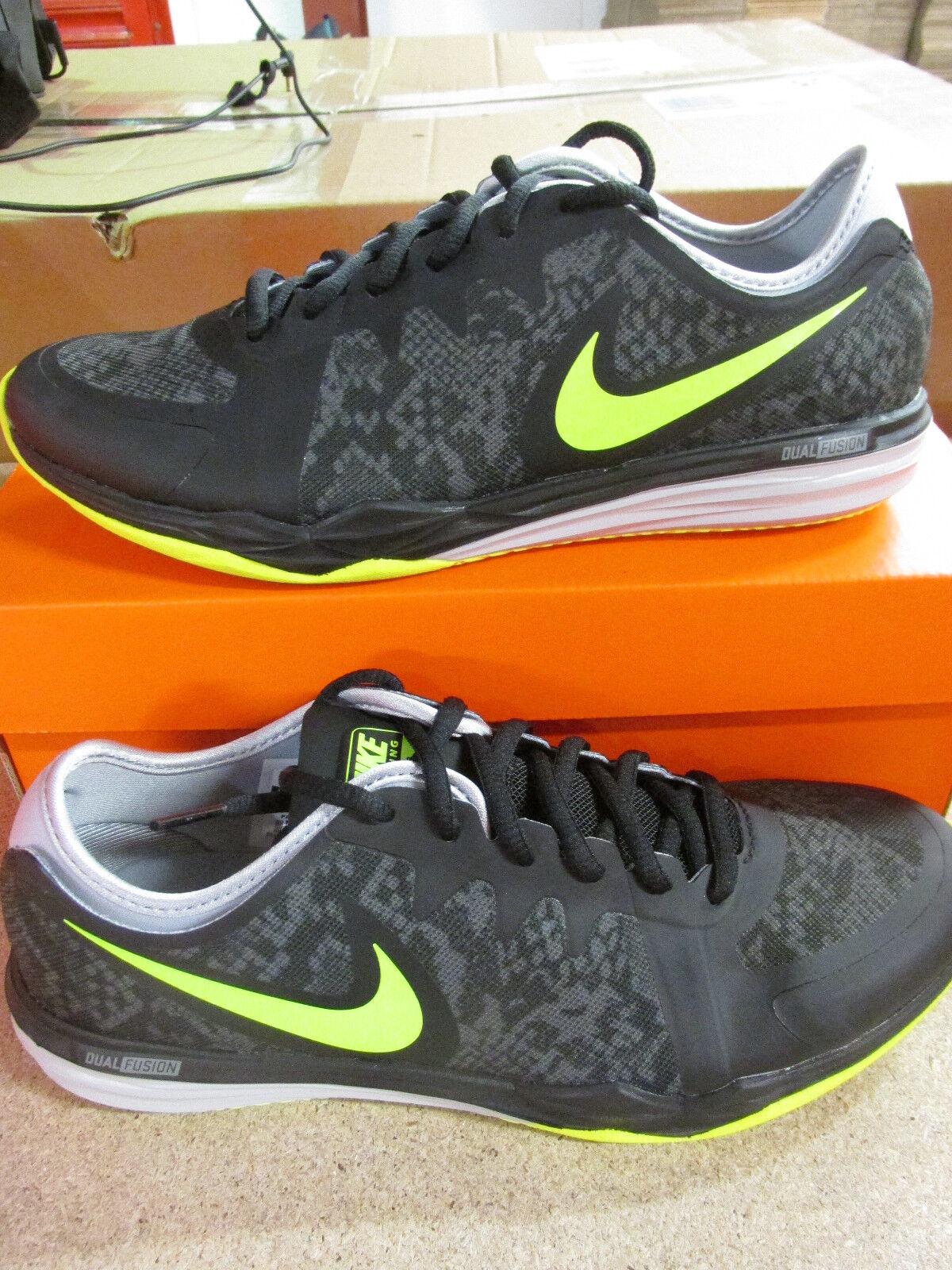 Nike Damen Laufschuhe Dual Fusion Tr 3 Aufdruck Laufschuhe Damen 704941 011 Turnschuhe c9d9d5