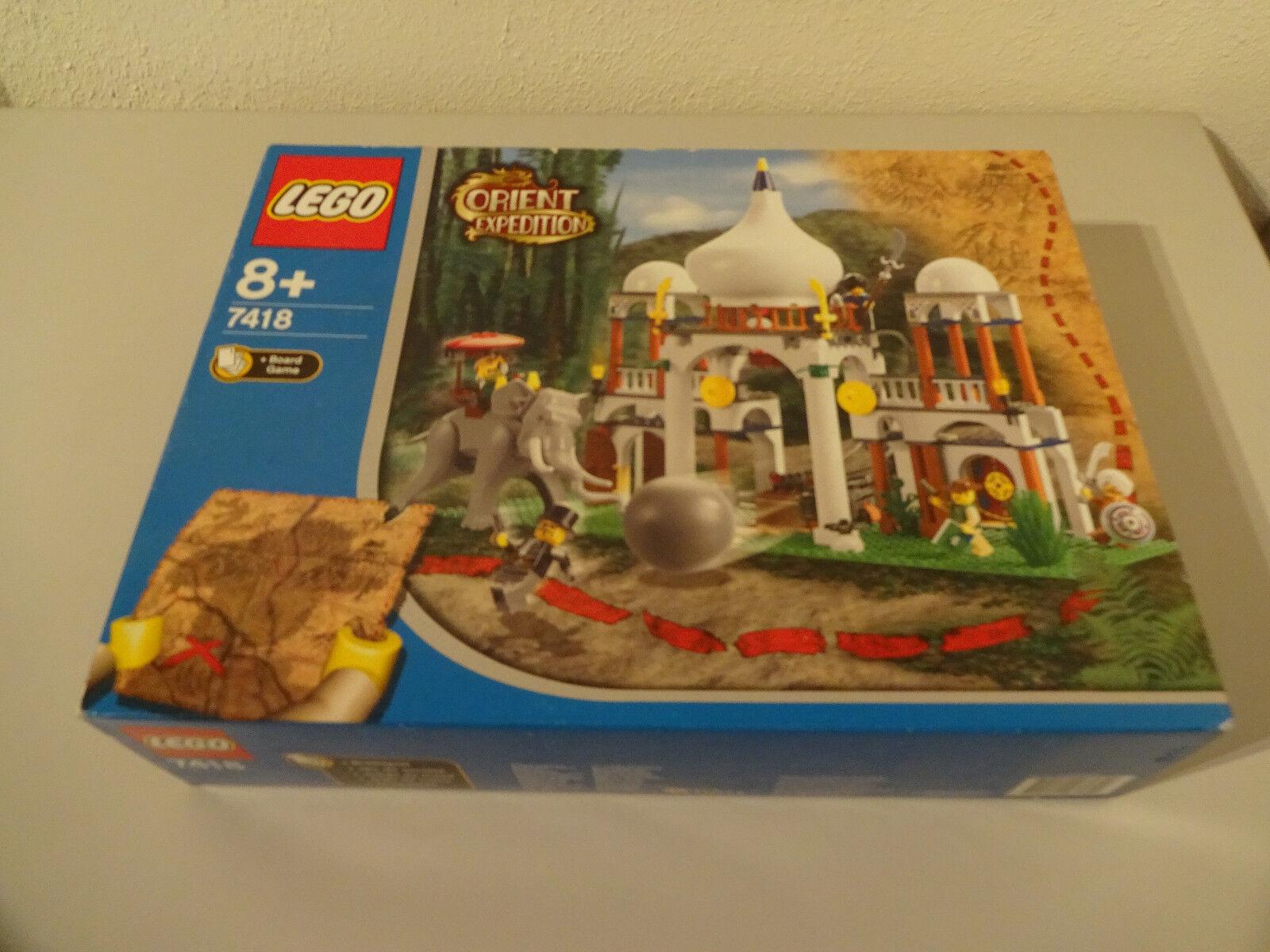 (TB) Lego 7418 7418 7418 Orient expedition Scorpion Palais Nouveau orginalversiegelt d3b631