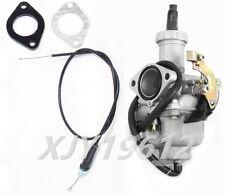 Carburetor W/ Throttle Cable Gasket Fits Honda Twinstar 200 CM185T CM200T CL200T