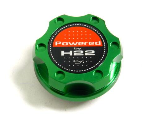 GREEN BILLET CNC RACING ENGINE OIL FILLER CAP HONDA PRELUDE H22