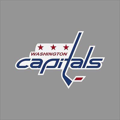 Washington Capitals Logo Vinyl Sticker Decal *SIZES* Cornhole Wall Car
