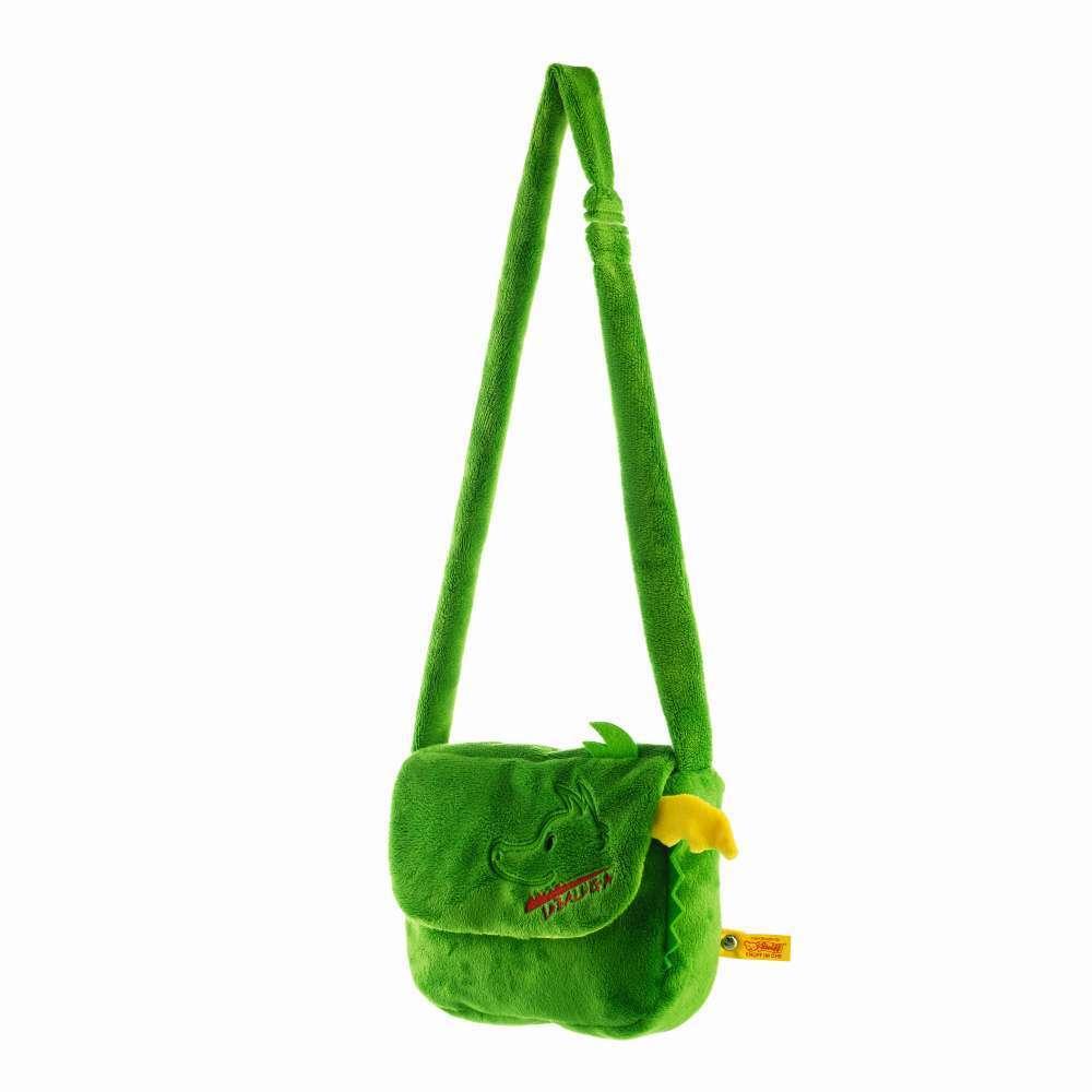STEIFF 024283 Tabaluga Tasche 19cm grün Schultertasche NEU