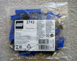 LEGO-My-Own-Train-Rare-3743-Locomotive-Blue-Bricks-New-amp-Sealed