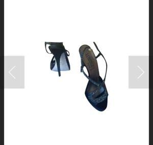 Sandali-gioiello-Loriblu-colore-nero-pari-al-nuovo-misura-38