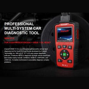 iCarsoft-W500-V1-0-Audi-VW-Seat-Skoda-scanner-ABS-SRS-oil-reset-update-of-i908