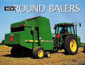 Owners Manual For John Deere 566 Baler. John Deere 446 456 466 546 556 566 Round Balers Specs Brochure Rh Ebay. John Deere. John Deere 466 Round Baler Wiring Harness At Scoala.co