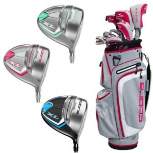 NEW 2017-2018 COBRA XL WOMENS COMPLETE 13-PIECE PACKAGE SET - PICK FROM 6 COLORS