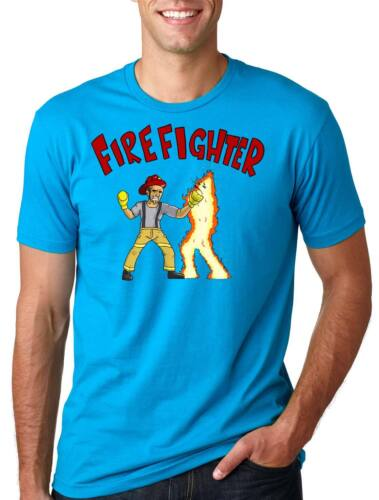 Funny Firefighter Tee Shirt Fire Fighter Gift for Firefighter Tee