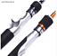 Spinning-Casting-Fishing-Rod-Carbon-Fibers-Tip-Lure-Gold-Metal-Ultra-Light-Silve thumbnail 1
