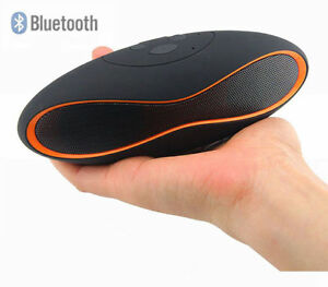 Portable Rugby wireless bluetooth mini stereo speaker FM Radio USB/MicroSD