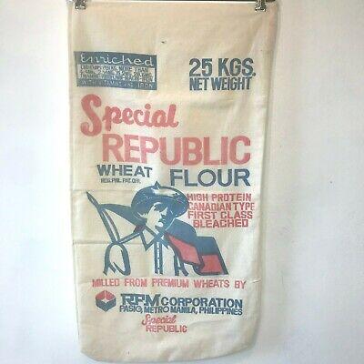 *NEW* Vintage Special Republic Wheat Flour Sack Feed Sack Farmhouse Decor