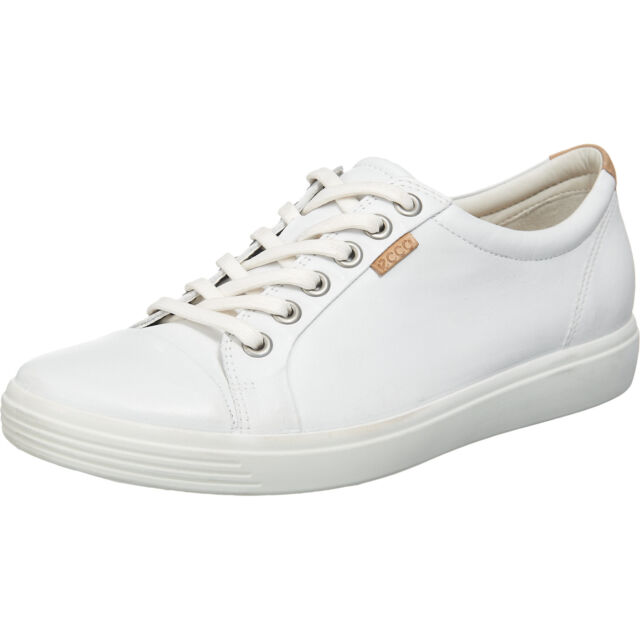 Neu ecco Soft 7 Sneakers weiß schwarz blau braun rosa 5747317