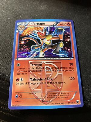 17//135 Rare NM Pokemon 5x Infernape