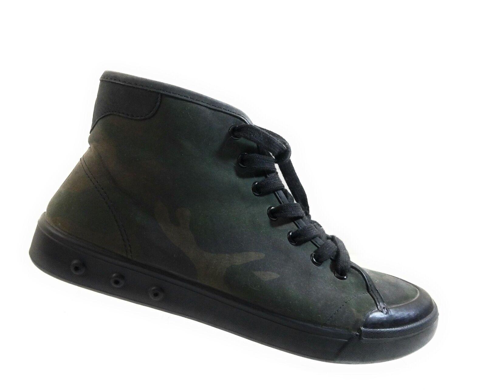 Rag & Bone Men High Top Khaki Dark Green Fashion Sneakers Lace Up shoes Sz 42.5