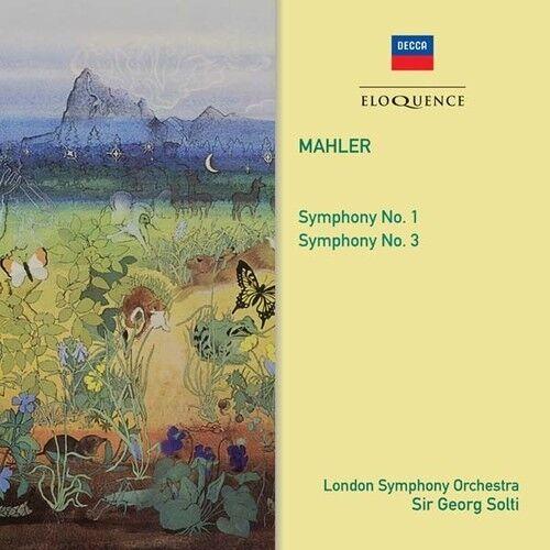 Mahler: Symphonies 1 & 3 [New CD] Australia - Import