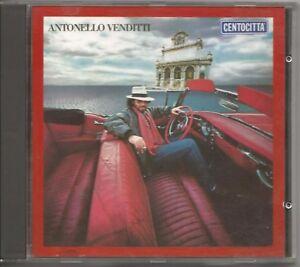 ANTONELLO-VENDITTI-Centocitta-039-Cento-Citta-039-CD-NO-BARCODE-1987-USATO