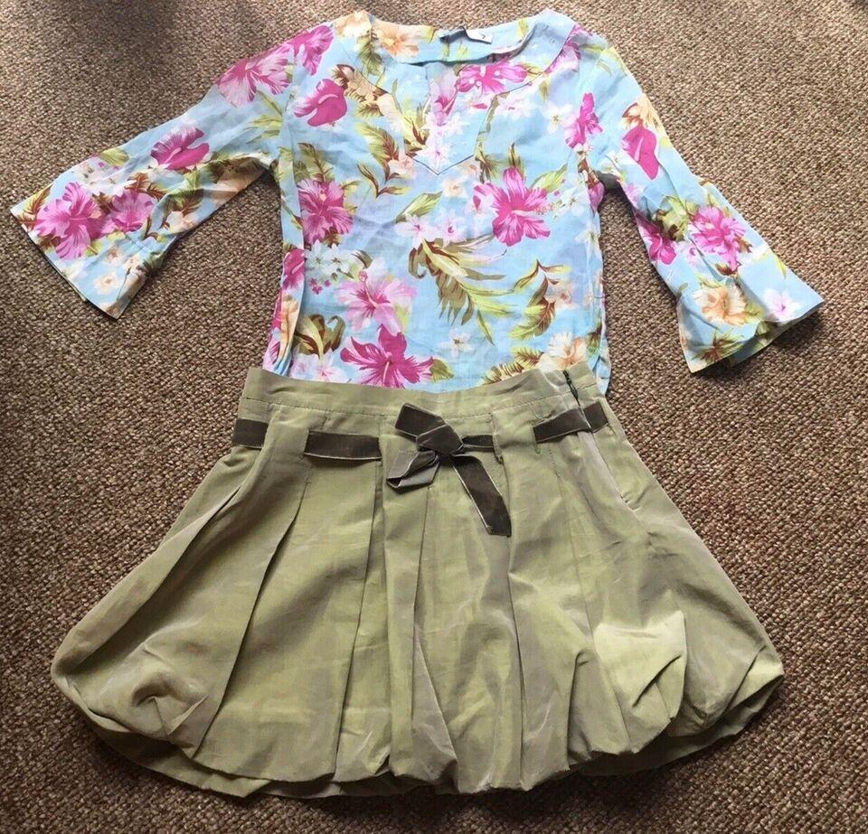 Nederdel, Nederdel+skjorte, Monalisa og Zara