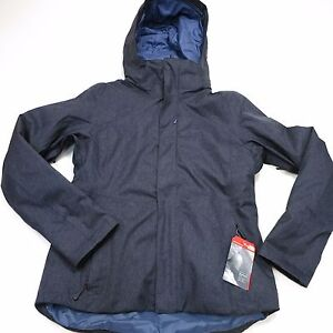 299-North-Face-Women-039-s-Powdance-Jacket-Medium-Urban-Navy-2TJM-NEW
