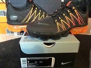 Nike-Air-VaporMax-Run-Utility-Black-Reflective-Silver-Oil-Grey-Orange-AQ8810-005