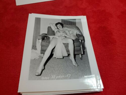 4 X 5 ORIGINAL PIN UP PHOTO FROM IRVING KLAW ARCHIVES OF DIANE REYNOLDS  #57