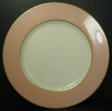 "LENOX china X305-214 PINK pattern DINNER PLATE 10-5/8"""