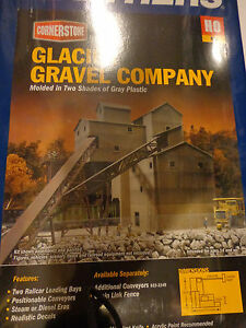 Walthers Cornerstone HO #933-3062 Glacier Gravel Company (kit)