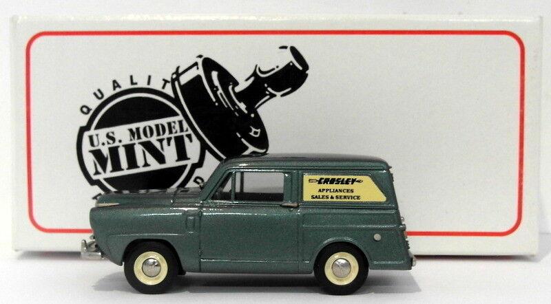 Us model mint 1 43 scale us36s - 1951  crosley sedan delivery-metallic vert  la meilleure sélection de