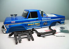 New Traxxas Bigfoot No.1 Body with Stampede Mount Posts Original Monster Truck