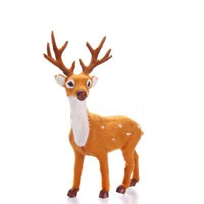 Christmas Deer Reindeer Santa Craft Elk Xmas Home Tree Decor Ornament Supply