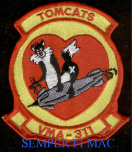 MCAS EL TORO US MARINES AUTHENTIC HAT PATCH TAB 3D MAW PIN UP WING SOMS GIFT WOW