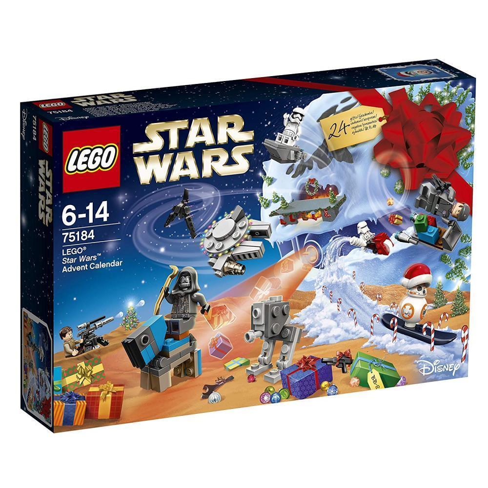 LEGO Star Wars Spielzeug Adventskalender mit 24 Überraschungen für Jungen ab 6
